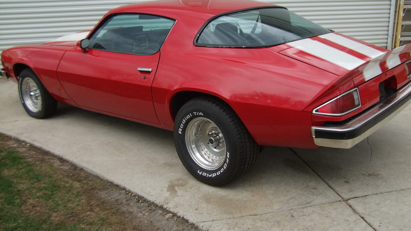 1975 Chevrolet Camaro 402/540 HP, 4-Speed presented as lot U67 at St. Charles, IL 2011 - image2