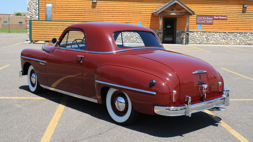 1949 Dodge Wayfarer Business Coupe 230 CI, 3-Speed presented as lot U69 at St. Charles, IL 2011 - image2