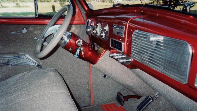 1938 Chevrolet Flat Back 2-Door Sedan 350/350 HP presented as lot U93 at St. Charles, IL 2011 - image4