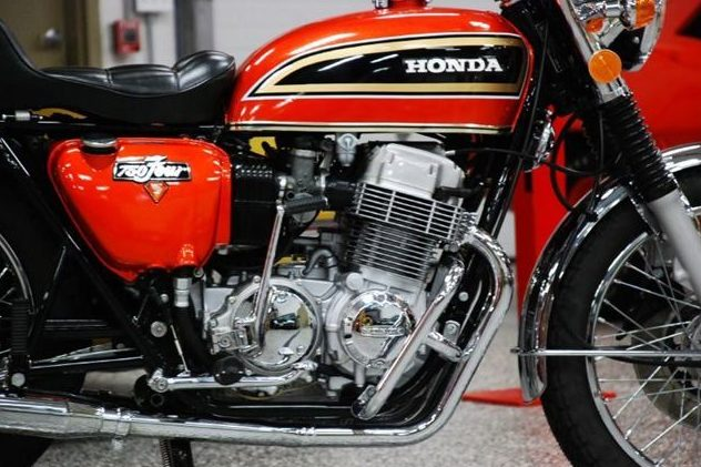 1973 Honda CB750K3 750CC, 5-Speed presented as lot U124 at St. Charles, IL 2011 - image7