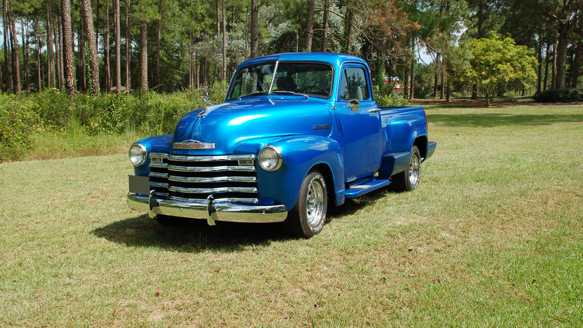 1952 Chevrolet  Pickup 350 CI presented as lot F52 at St. Charles, IL 2011 - image2