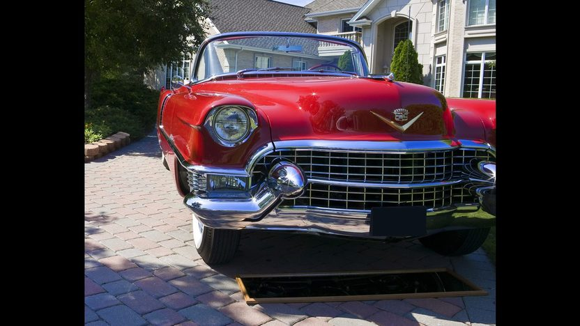 1955 Cadillac  Convertible 331/250 HP, Automatic presented as lot S164 at St. Charles, IL 2011 - image3