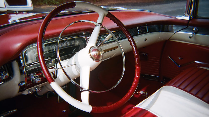 1955 Cadillac  Convertible 331/250 HP, Automatic presented as lot S164 at St. Charles, IL 2011 - image5