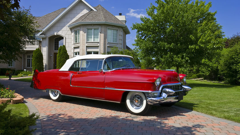 1955 Cadillac  Convertible 331/250 HP, Automatic presented as lot S164 at St. Charles, IL 2011 - image8