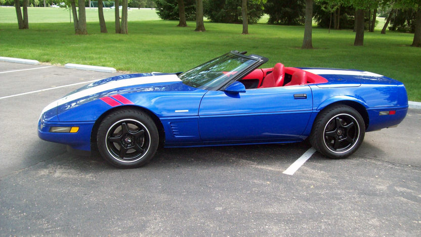 1996 Chevrolet Corvette Grand Sport Convertible LT4/330 HP, 6-Speed presented as lot F180 at St. Charles, IL 2011 - image3