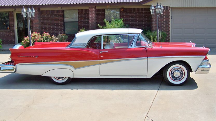1958 Ford Skyliner Retractable 352/300 HP, Automatic presented as lot F264 at St. Charles, IL 2011 - image2