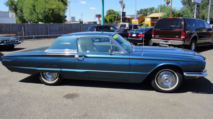 1966 Ford Thunderbird Automatic presented as lot F42 at St. Charles, IL 2011 - image2