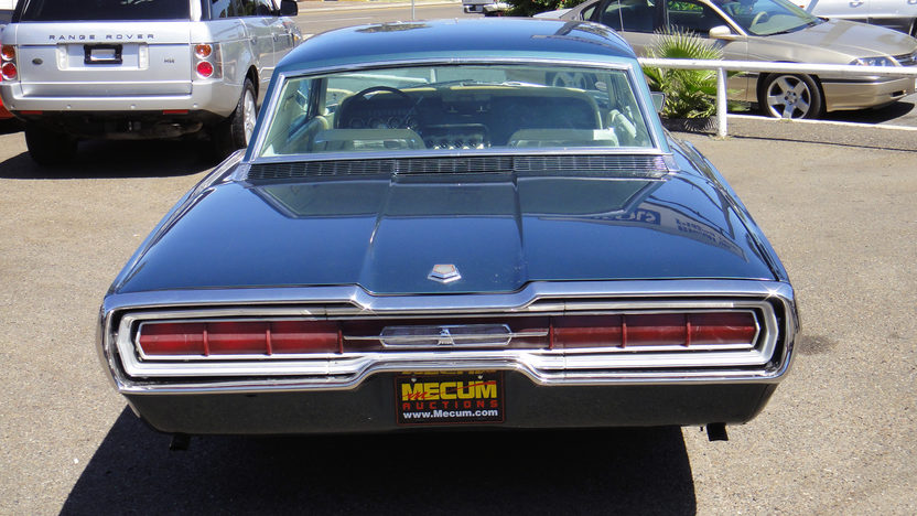 1966 Ford Thunderbird Automatic presented as lot F42 at St. Charles, IL 2011 - image3