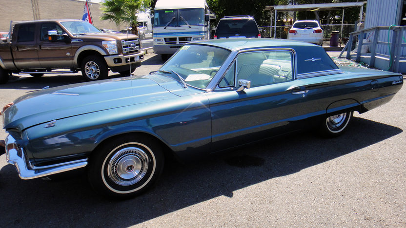 1966 Ford Thunderbird Automatic presented as lot F42 at St. Charles, IL 2011 - image7