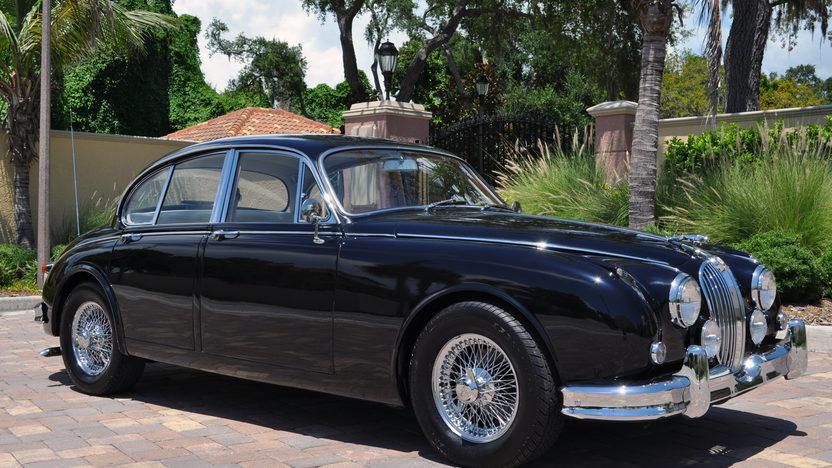 1963 Jaguar Mark II 4-Door Sedan 350 CI, Automatic presented as lot S49 at St. Charles, IL 2011 - image8