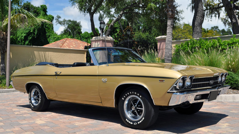 1969 Chevrolet Chevelle SS Convertible 396/325 HP, 4-Speed presented as lot F253 at St. Charles, IL 2011 - image8