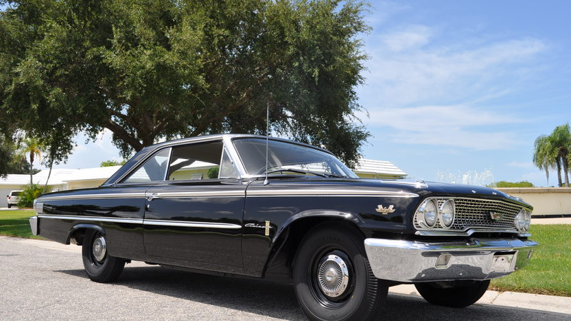 1963 Ford Galaxie 500 R-Code 427/425 HP, 4-Speed presented as lot S139 at St. Charles, IL 2011 - image8