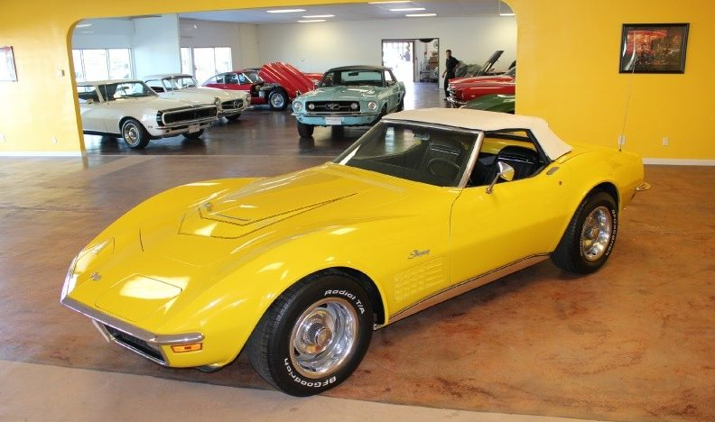 1971 Chevrolet Corvette LT1 Convertible 4-Speed presented as lot S86 at St. Charles, IL 2011 - image5
