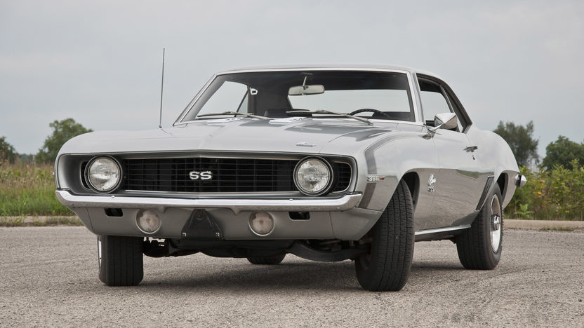 1969 Chevrolet Camaro SS 396 presented as lot S169 at St. Charles, IL 2011 - image2