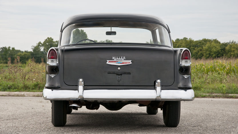 1955 Chevrolet 150 Utility Sedan 265 CI, 3-Speed presented as lot T198.1 at St. Charles, IL 2011 - image4