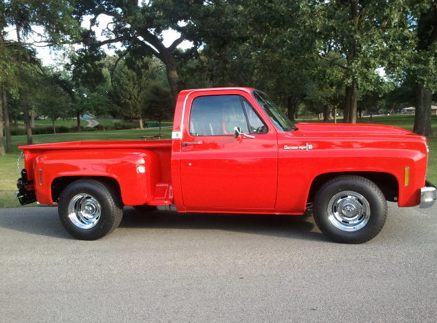 1974 Chevrolet C10 Pickup 350 CI, Automatic presented as lot T117 at St. Charles, IL 2011 - image2
