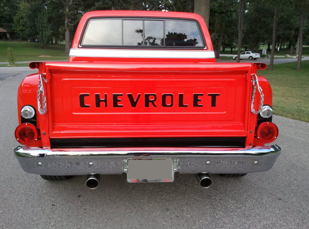 1974 Chevrolet C10 Pickup 350 CI, Automatic presented as lot T117 at St. Charles, IL 2011 - image3