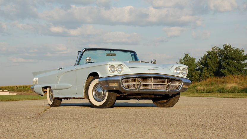 1960 Ford Thunderbird Convertible 430 CI, Automatic presented as lot U53 at St. Charles, IL 2011 - image2