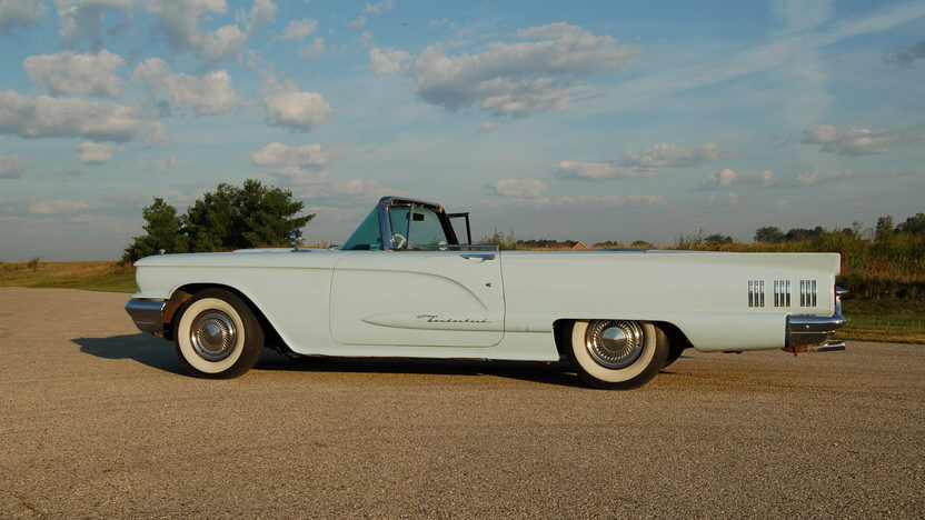 1960 Ford Thunderbird Convertible 430 CI, Automatic presented as lot U53 at St. Charles, IL 2011 - image8