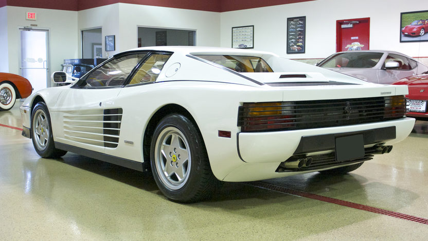 1991 Ferrari Testarossa Coupe 4.9/390 HP, 5-Speed presented as lot F240.1 at St. Charles, IL 2011 - image3