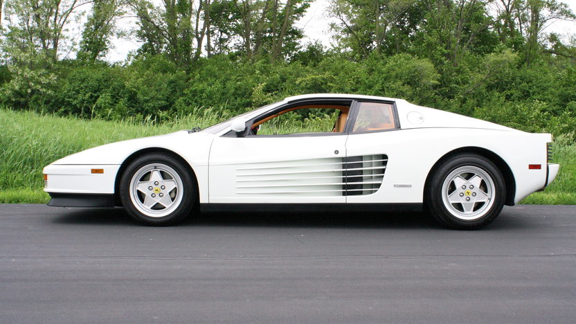 1991 Ferrari Testarossa Coupe 4.9/390 HP, 5-Speed presented as lot F240.1 at St. Charles, IL 2011 - image4