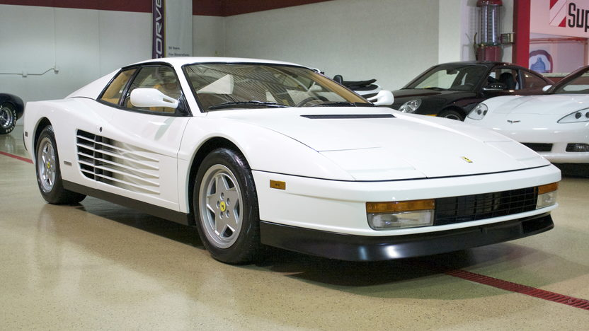 1991 Ferrari Testarossa Coupe 4.9/390 HP, 5-Speed presented as lot F240.1 at St. Charles, IL 2011 - image8