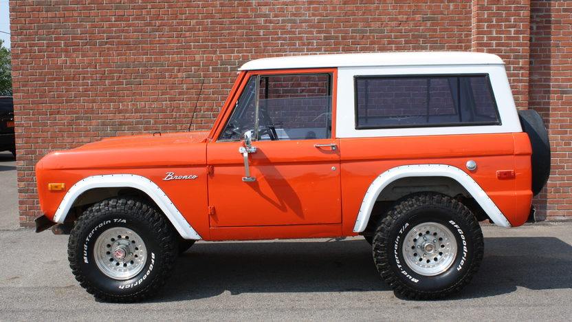 1970 Ford Bronco 170 CI, 3-Speed presented as lot T107 at St. Charles, IL 2011 - image2