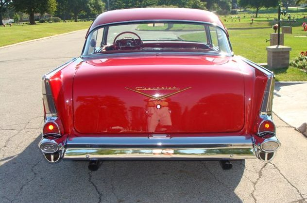 1957 Chevrolet Bel Air 2-Door Hardtop presented as lot F225.1 at St. Charles, IL 2011 - image4