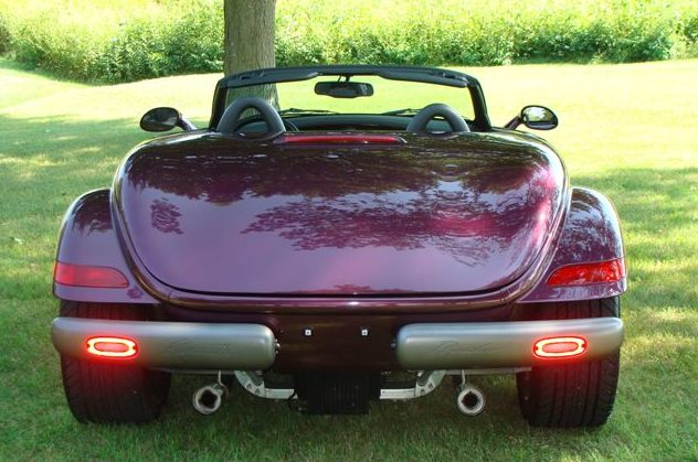 1999 Plymouth Prowler Convertible presented as lot S149 at St. Charles, IL 2011 - image3