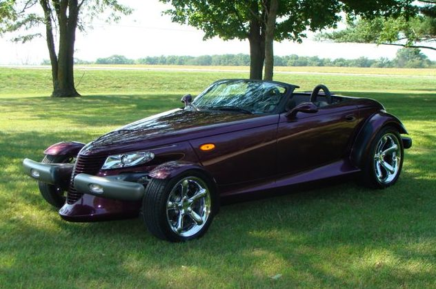 1999 Plymouth Prowler Convertible presented as lot S149 at St. Charles, IL 2011 - image5