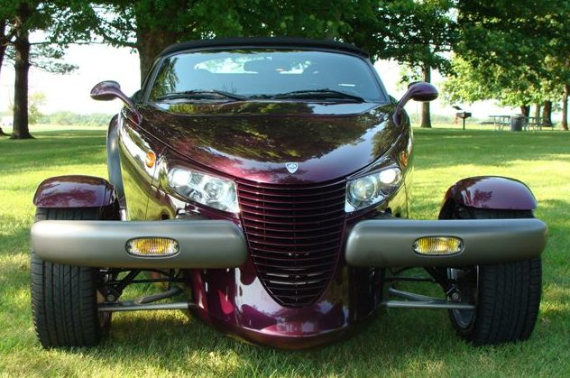 1999 Plymouth Prowler Convertible presented as lot S149 at St. Charles, IL 2011 - image6
