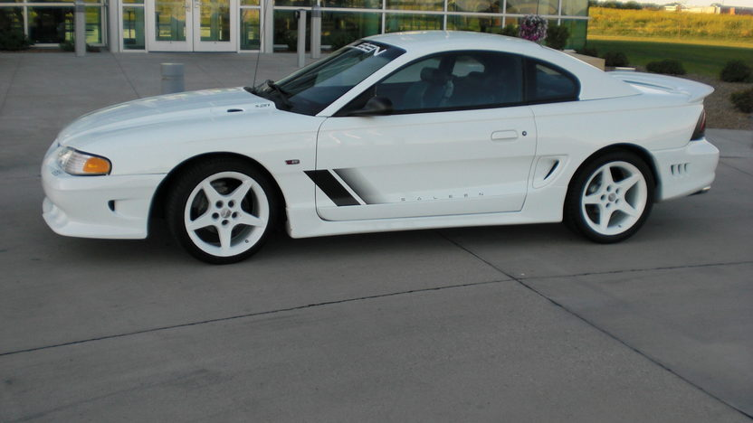 1997 Ford Mustang Saleen Coupe 281 CI, 4-Speed Manual presented as lot T277 at St. Charles, IL 2011 - image2
