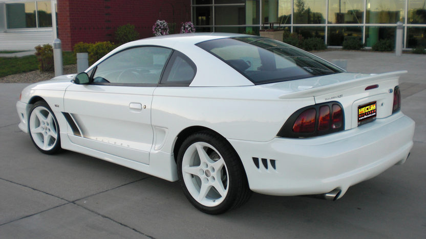 1997 Ford Mustang Saleen Coupe 281 CI, 4-Speed Manual presented as lot T277 at St. Charles, IL 2011 - image3