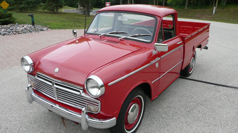 1964 Datsun 1200 Pickup 60 HP, 4-Speed presented as lot T136 at St. Charles, IL 2009 - image3