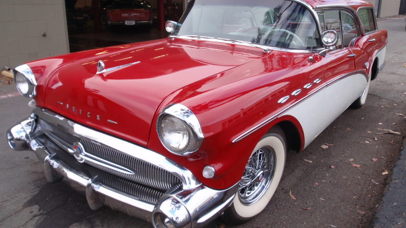 1957 Buick Caballero Station Wagon 364/300 HP, Automatic presented as lot F158 at St. Charles, IL 2009 - image2