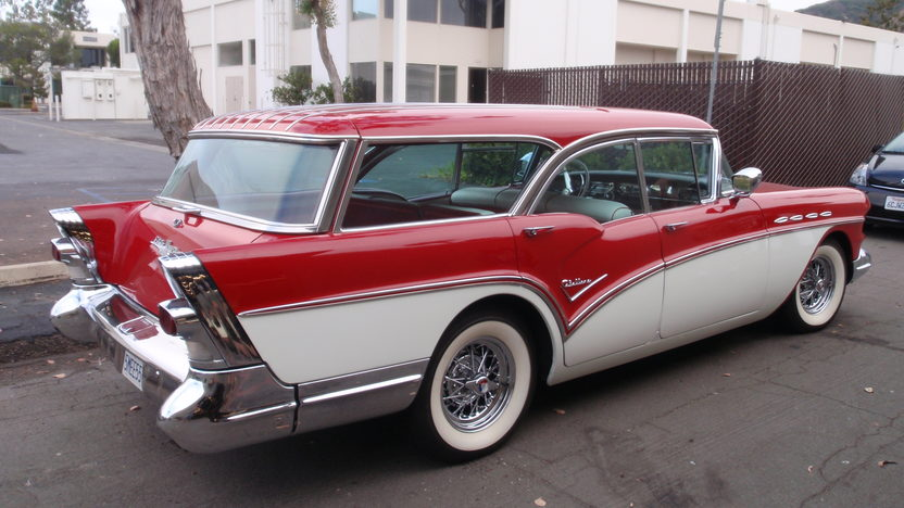 1957 Buick Caballero Station Wagon 364/300 HP, Automatic presented as lot F158 at St. Charles, IL 2009 - image3