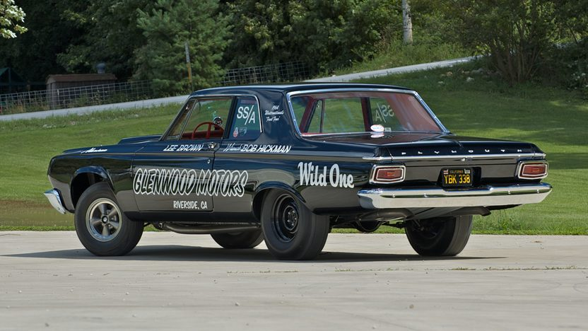 1964 Plymouth Savoy Lightweight Race Car 426/425 HP presented as lot S50 at St. Charles, IL 2009 - image3