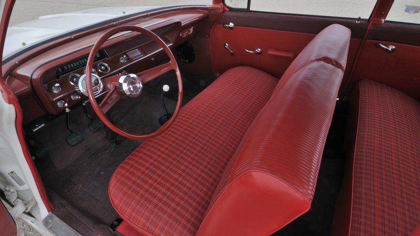 1962 Chevrolet Biscayne 2-Door 409/409 HP, 4-Speed  presented as lot S181 at St. Charles, IL 2009 - image5