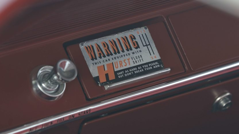 1962 Chevrolet Biscayne 2-Door 409/409 HP, 4-Speed  presented as lot S181 at St. Charles, IL 2009 - image6