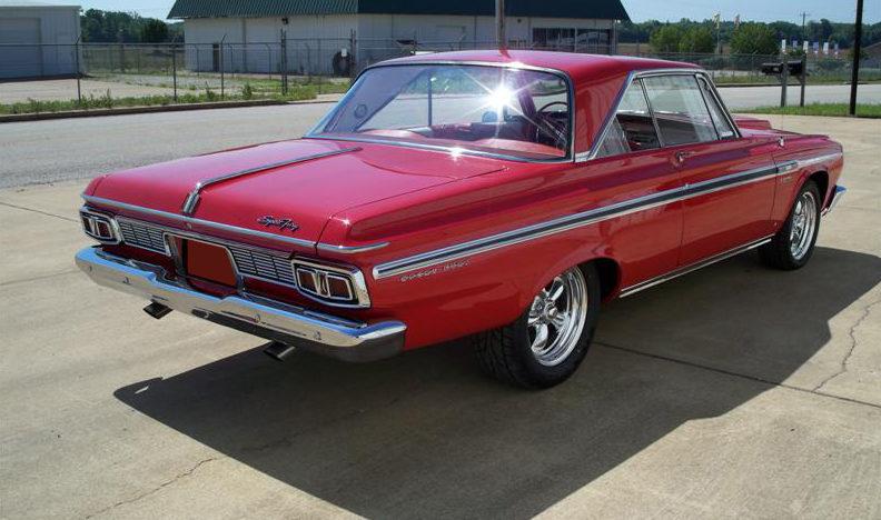1964 Plymouth Sport Fury 2 Door Hardtop Mecum St