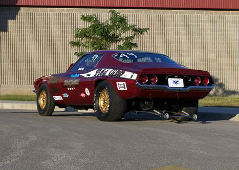 1970 Chevrolet Camaro SS Coupe ZL1 427 CI, Pro Stock Race Car presented as lot S117 at St. Charles, IL 2009 - image2