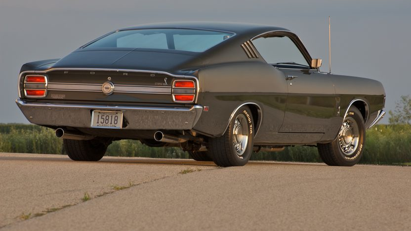 1969 Ford Torino Cobra Fastback 428/335 HP, 4-Speed  presented as lot F189 at St. Charles, IL 2009 - image2
