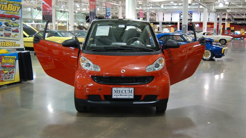 2008 Smart For Two Passion Cabriolet presented as lot U74 at St. Charles, IL 2009 - image3