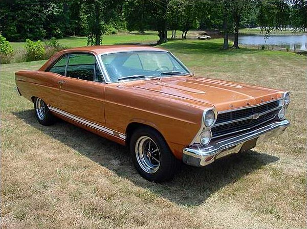 1967 Ford Fairlane GT Sedan 390/335 HP, 4-Speed  presented as lot F206 at St. Charles, IL 2010 - image2