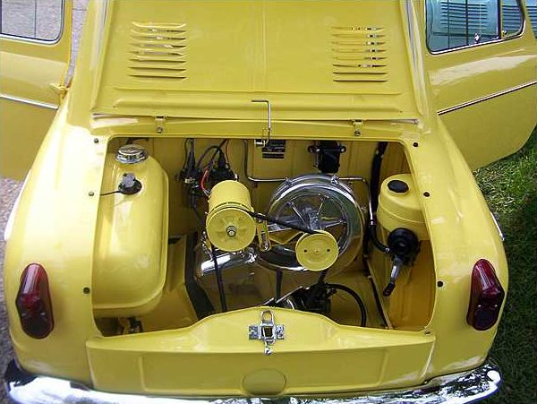 1961 vespa 400 mini car mecum st charles 2010 f279. Black Bedroom Furniture Sets. Home Design Ideas