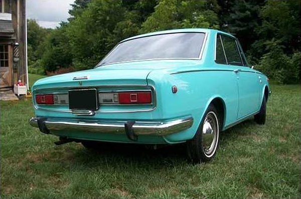 1969 Toyota Corona Rt52 Coupe 90 HP, Automatic presented as lot S9 at St. Charles, IL 2010 - image3