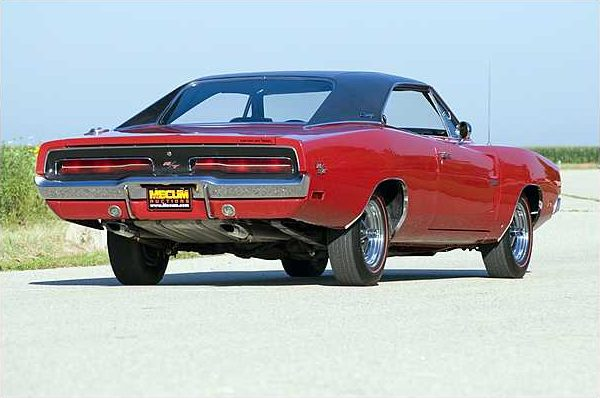 1969 Dodge Hemi Charger R/T 426/425 HP, 4-Speed with 13,645 Actual Miles presented as lot S95 at St. Charles, IL 2010 - image2