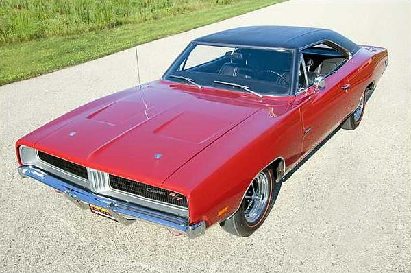 1969 Dodge Hemi Charger R/T 426/425 HP, 4-Speed with 13,645 Actual Miles presented as lot S95 at St. Charles, IL 2010 - image3