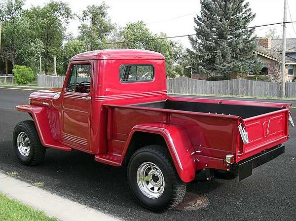 1947 Willys Overland Pickup 350/300 HP, 3-Speed presented as lot S189 at St. Charles, IL 2010 - image2