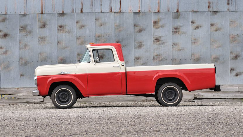 1959 Ford F100 Pickup 4-Speed, Custom Cab presented as lot T87 at Schaumburg, IL 2013 - image2